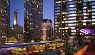 la rooftop bars outdoor restaurants the standard
