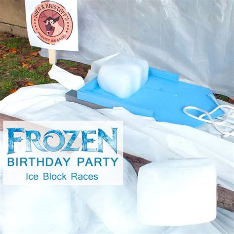 Frozen Diy Sleds For Ice Block Races Two Sisters Crafting