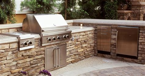 Outdoor Kitchen Design Plans by 25 Outdoor Kitchen Designs That Will Light Up Your Grill