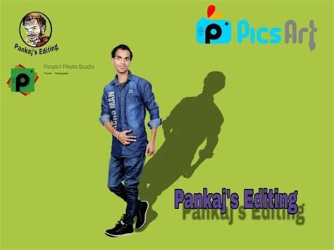 picsart shadow tutorial how to make shadow in picsart picsart tutorial pankaj