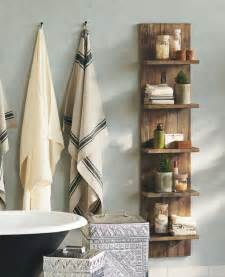 diy bathroom shelves to increase your storage space