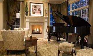 Green Living Room Piano 15 Grand Piano Set Ups In Traditional Living Rooms Home