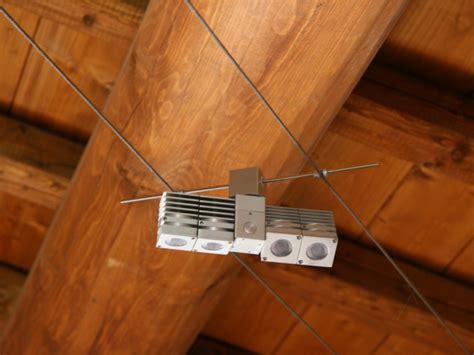 tesate illuminazione lada a sospensione a led su cavi gemini plus led tesata