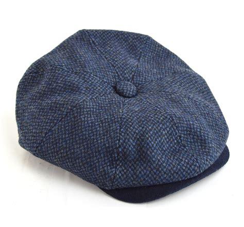 blue pattern hat blue pattern newsboy hat peaky blinders style mod shoes