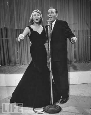 rosemary clooney on bing crosby love those classic movies classic mr mrs clause