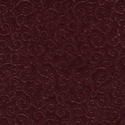 c336 burgundy swirl scroll microfiber upholstery fabric by