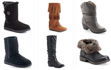 kohl s s boots 16 66 a pair or less reg 59 99