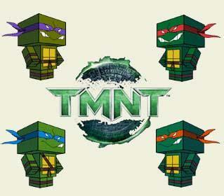 Tmnt Papercraft - mutant turtles papercraft paperkraft net