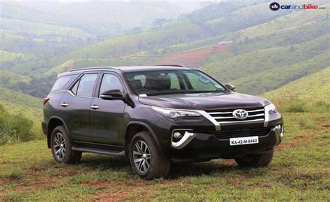 toyota cars with price toyota fortuner india price review images toyota cars