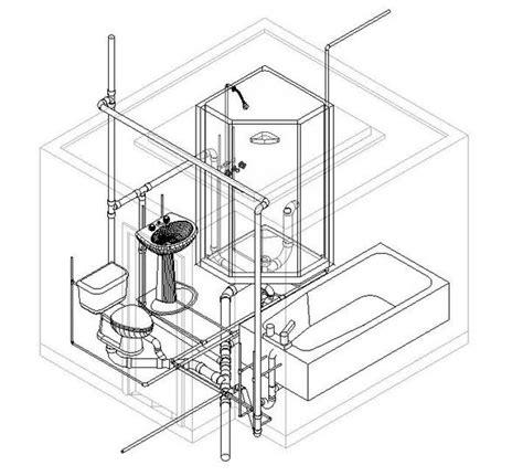 bathroom waste plumbing diagram revitcity com object plumbing diagram on revitmep2009