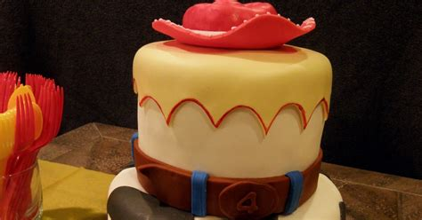 4 Kids Cakes: Jessie from Toy Story