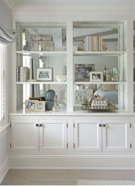 bookcase with mirror the zhush home tour fairfield county chic bookshelves