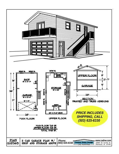 2 car garage floor plans 2 car garage with full upper floor garage apartments for