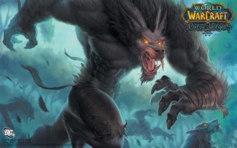 wallpaper abyss werewolf 2 world of warcraft the curse of worgen hd wallpapers