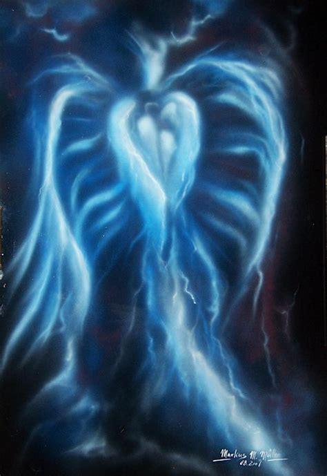 Farbe Blauer Engel kunstwerk blauer engel 5m