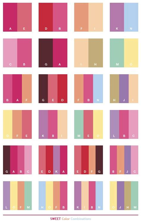 combination of colors 25 best ideas about pink color schemes on pinterest