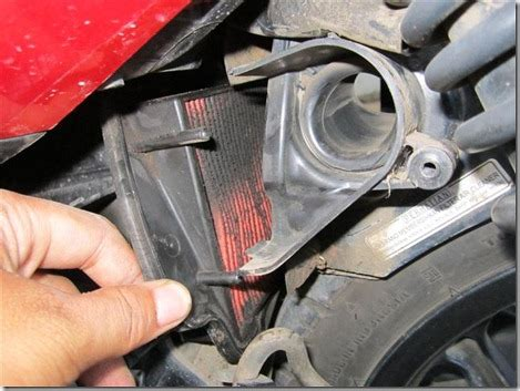 Air Filter Honda Vario diy mengganti sendiri air filter honda vario pertamax7