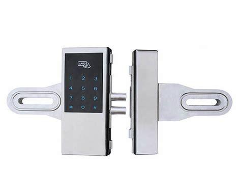 L S Gagang Pintu Rumah Elektrik Touchsreen Digital Door Lock fechadura digital para porta de vidro vender por atacado fechadura digital para porta de vidro