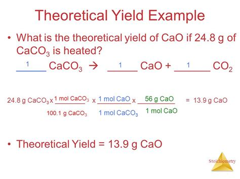 chapter 3 stoichiometry calculations with chemical
