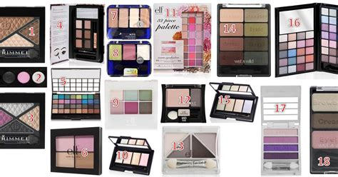 Eyeshadow Wardah Seri H Review 100 eyeshadow palette review tutorial