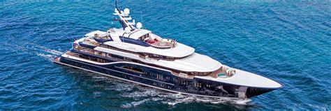 Solandge Yacht Layout | sun deck top deck yacht solandge