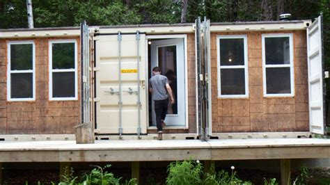 Small Homes For Sale Ottawa Ottawa Converts Shipping Containers Into Secluded