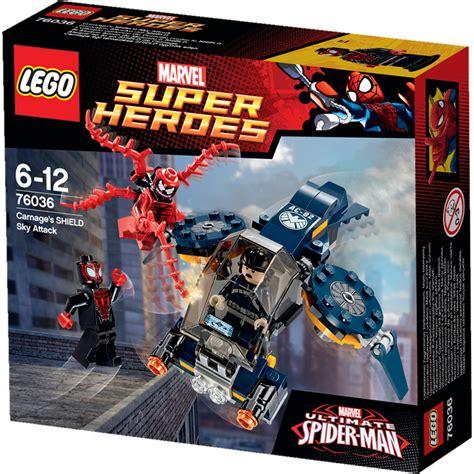 Lego Marvel 76036 Carnage Shield Sky Attack lego heroes carnage s shield sky attack 76036 new ebay