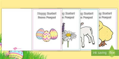 easter card templates twinkl easter card templates italian easter card templates