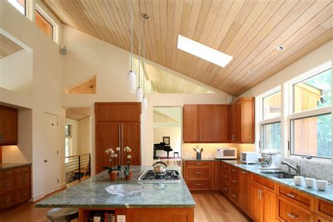 Cathedral Ceiling Kitchen Kitchen Modern With Eat In