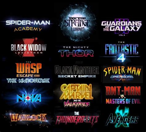 marvel film universe phase 4 this marvel phase 4 movies slate is what fans dreams are