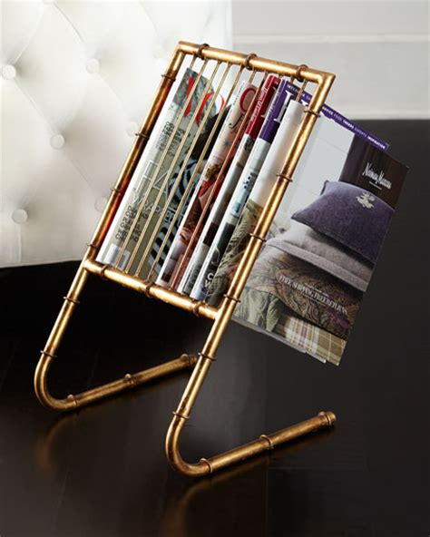 Neimans The Rack by Quot Bamboo Quot Magazine Rack