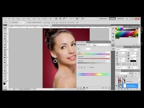 tutorial photoshop cs5 vire makeover photoshop elements 11 color adjustment layer change