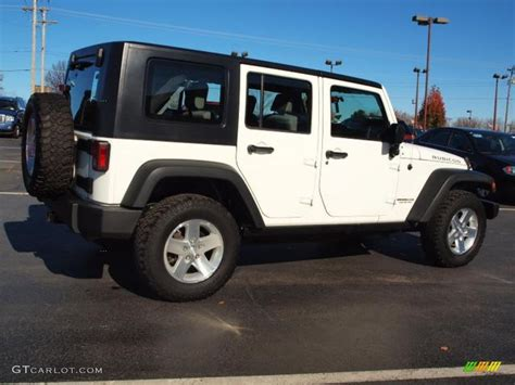 white jeep rubicon white 2008 jeep wrangler unlimited rubicon 4x4