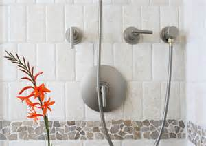 Room Wall Dividers - island stone random tile bathroom shower and sink modern tile other metro by island stone