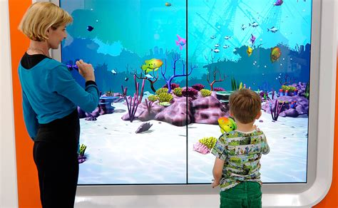 aquarium design glasgow interactive aquarium southern general hospital