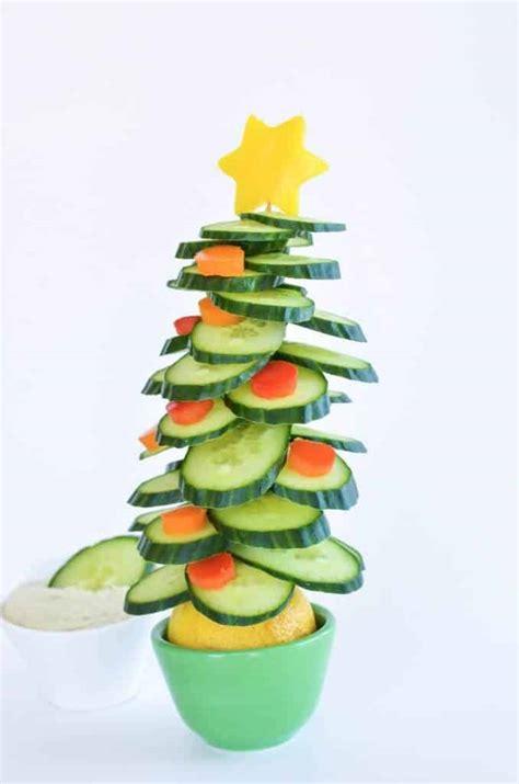 edible broccoli christmas tree healthy christmas treat