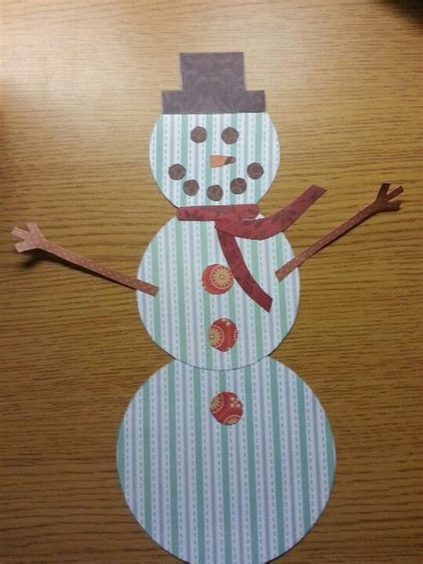 snowman christmas crafts teaching ideas pinterest