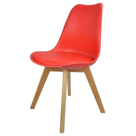 Plastic Dining Chair Plastic And Faux Leather Dining Chair From Fusion Living