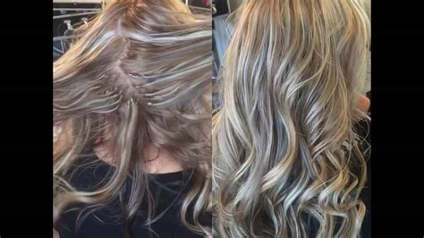 tutorials for putting lowlights in blonde hair hair extensions blonde lowlights youtube