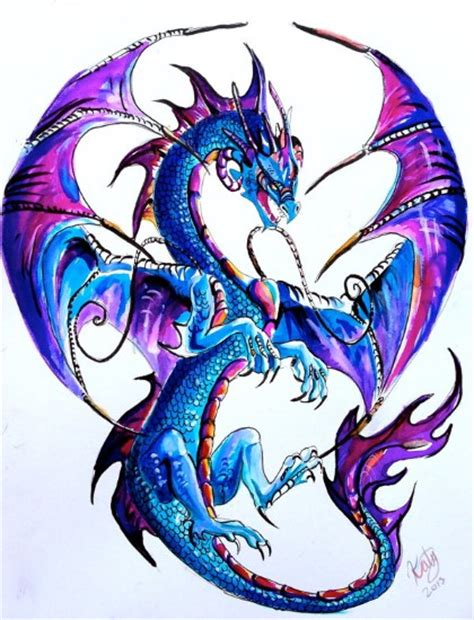 watercolor dragon tattoo watercolor ideas pickers