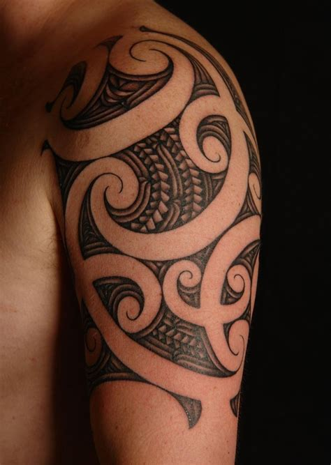 tribal maori tattoos 57 fantastic maori shoulder tattoos