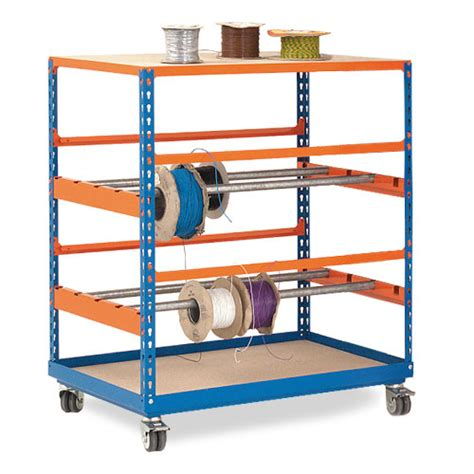 Rak Organizer Mobil high quality rapid 2 mobile reel racks at rapid racking