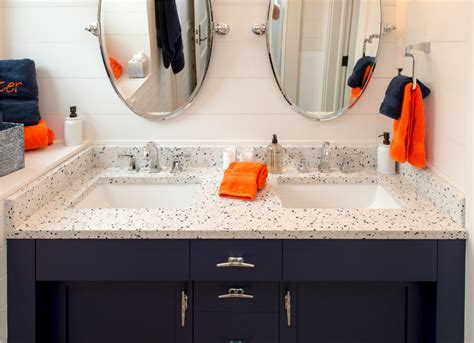 Recycled Glass Vanity Top by 5 Ideas For An Eco Friendly Vanity Top Makeover