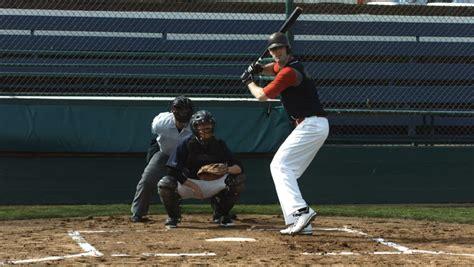 pro baseball swing slow motion baseball player hitting ball slow motion stock footage