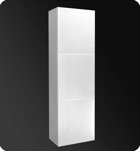 17 75 fresca fst8090wh white bathroom linen side cabinet