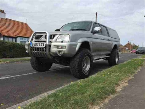 mitsubishi 4x4 l200 mitsubishi 2002 l200 warrior truck 2 5td 4x4