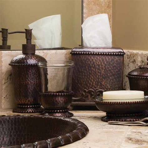 antique copper bathroom accessories from the gg collection