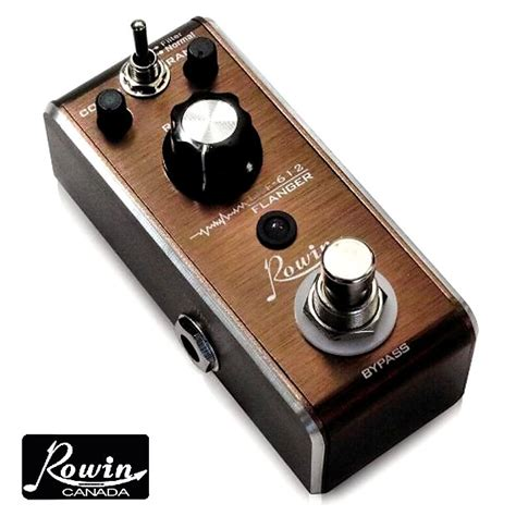 Rowin Tuner rowin lef 612 flanger micro effect pedal and rowin tuner