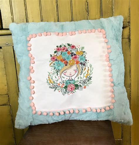 My Luxe Pillow - luxe cuddle 174 minky frame pillows shannon fabrics