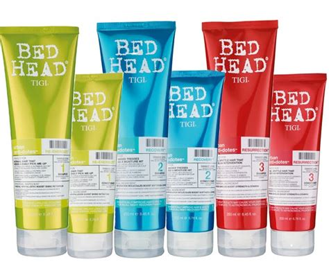 bed head bed head urban antidotes resurrection shoo